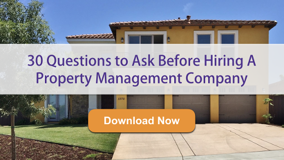 Questions to ask a property management company