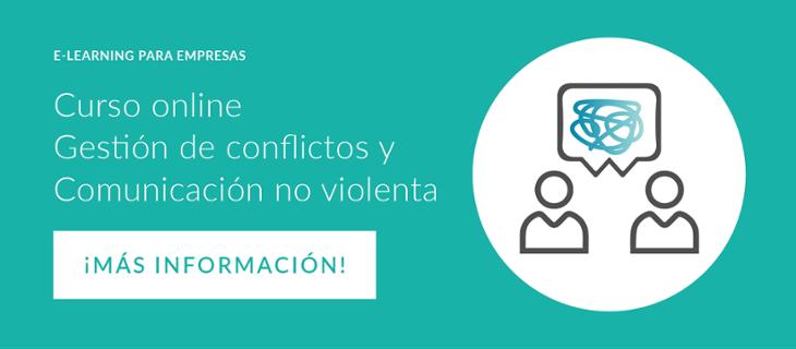 Curso online Gestión de conflictos y Comunicación no violenta