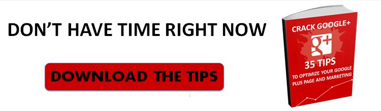 google plus tips cta2