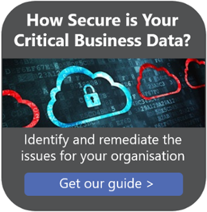 How Secure is your Critical Business Data? get the guide