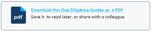 Due Diligence e-book