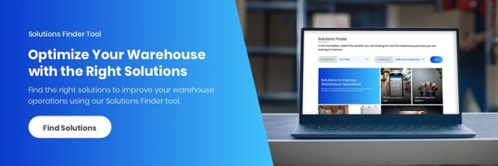 Solutions Finder Tool | Warehouse Solutions