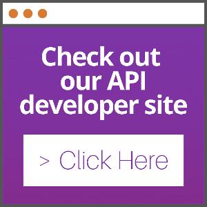 Check out our API developer site CTA