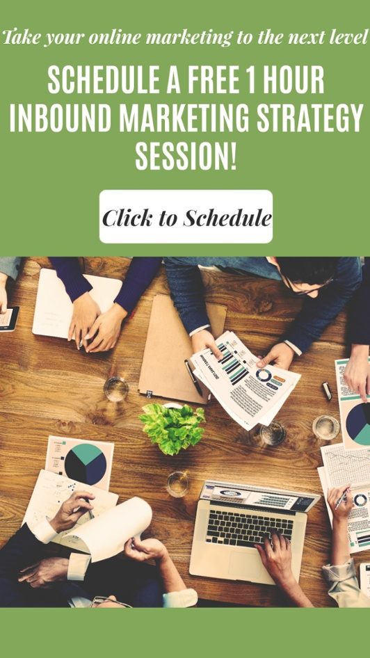 Schedule a Free 1 Hour Inbound Marketing Strategy Session