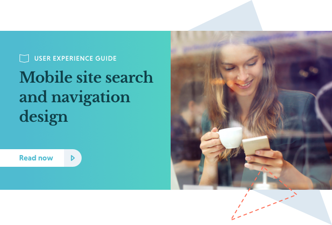 Mobile Site Search and Navigation Design Guide CTA