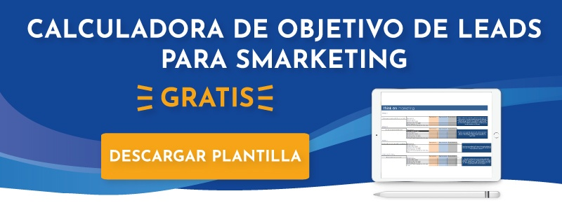 Calculadora de objetivo de leads para smarketing