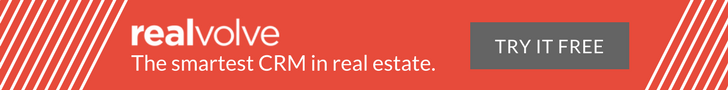 Realvolve - The smartest CRM in real estate. Try it free.
