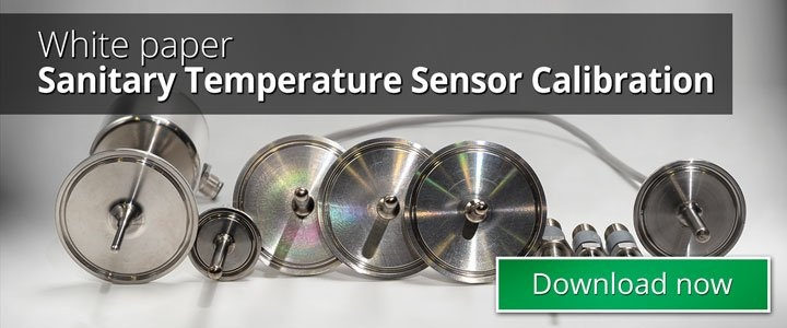 Sanitary Temperature Sensor Calibration - Beamex blog post
