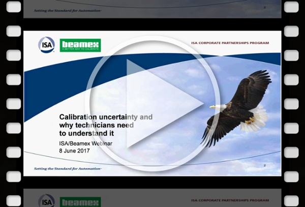 Calibration uncertainty webinar - Beamex