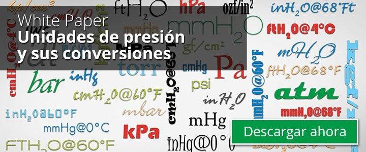 Descargar ahora: White Paper - Unidades de presión y sys conversiones