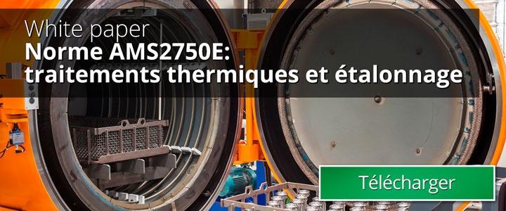Tratamiento térmico y calibración según la normativa AMS2750E