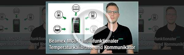 Beamex MC6-T Temperaturkalibrator und Kommunikator   Beamex Video