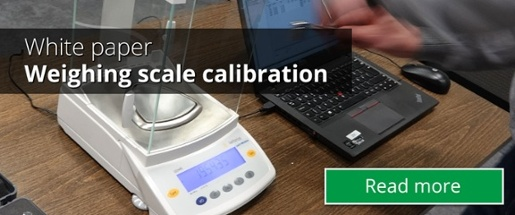 Weighing scale calibration - How to calibrate weighing instruments. Beamex white paper.