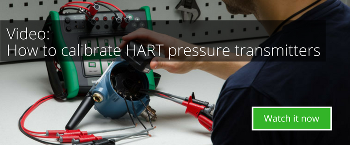 How to calibrate HART pressure transmitters - Beamex Video