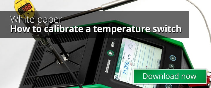 How to calibrate a temperature switch - Beamex white paper