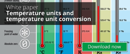 Temperature unit conversion - Beamex white paper