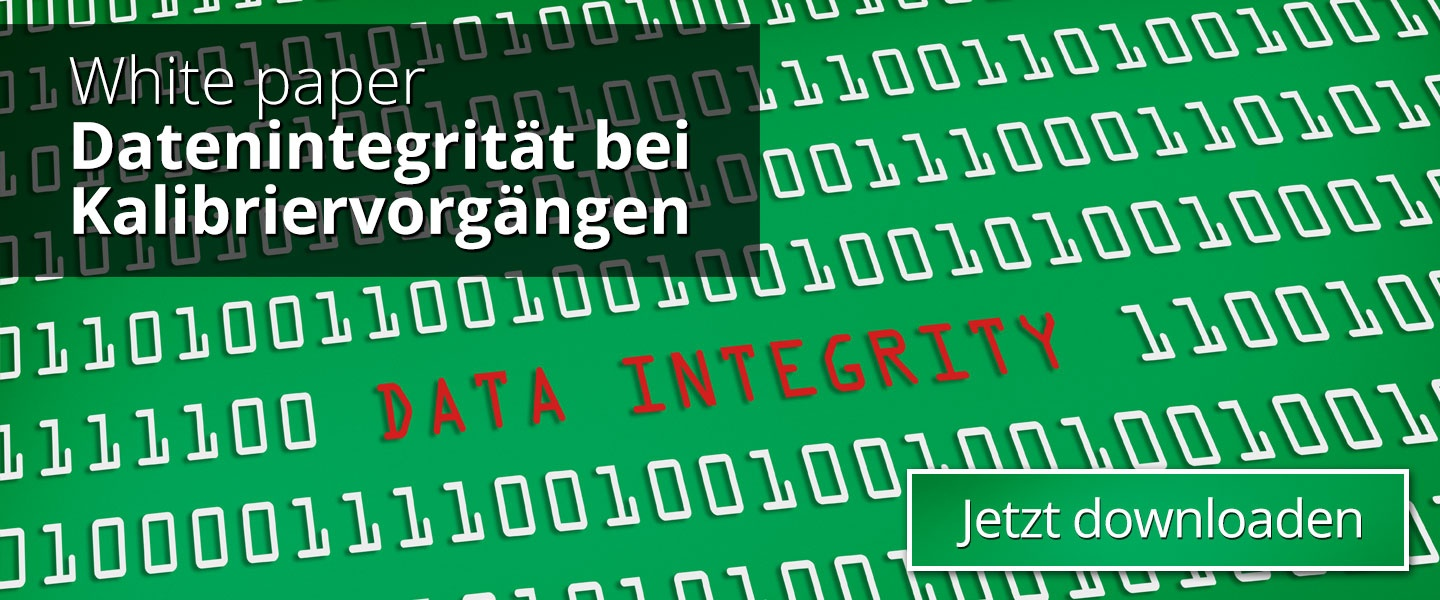 Data Integrity in Calibration Processes