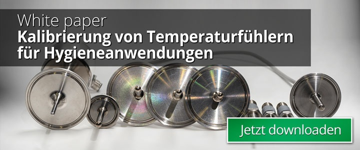 Kalibrierung von Temperaturfühlern für Hygieneanwendungen - Beamex Blog Post