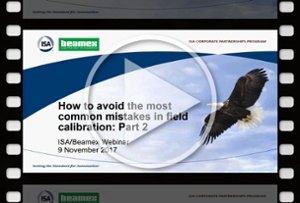 How to avoid the most common mistakes in field calibration, Part 1 - Beamex webinar