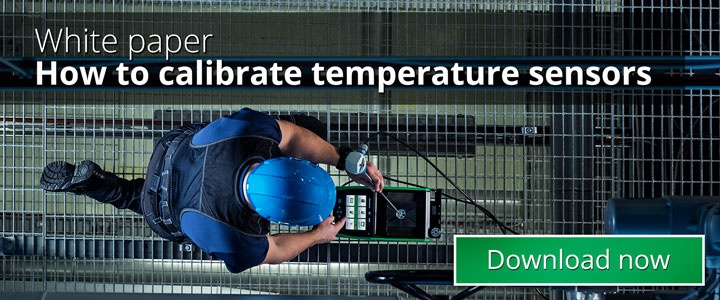 How to calibrate temperature sensors - Beamex blog post