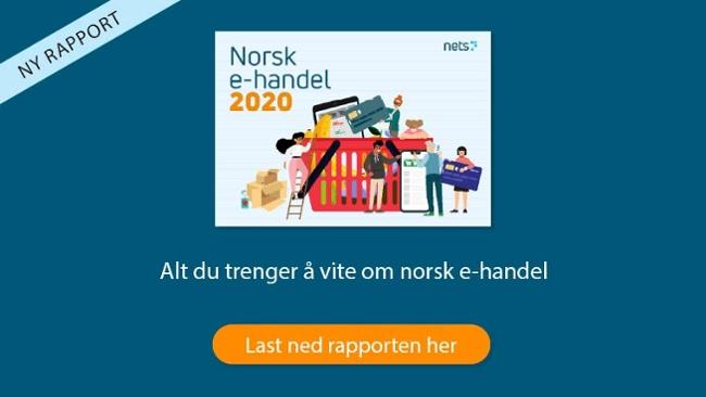 Norsk e-handelsrapport 2020