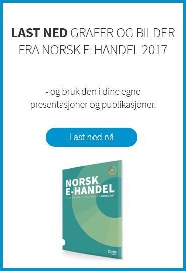 Last ned grafer og bilder fra norsk e-handel 2017