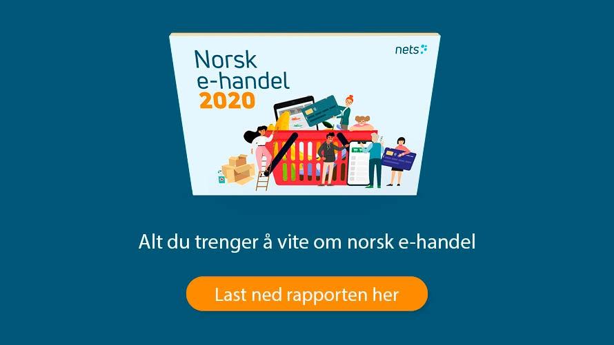 Nets Norsk e-handelsrapport 2020