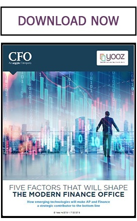 Download Five factors that will shape the modern finance office whitepaper