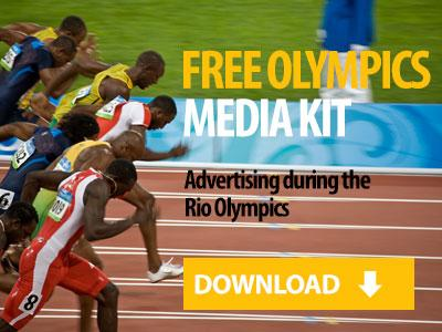 Advertise during the Olympics
