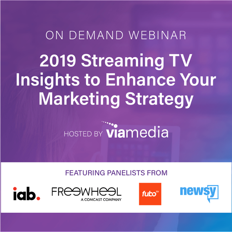 2019 OTT trends on demand webinar