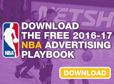 Advertise during the 2016-17 NBA Season