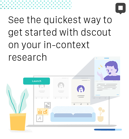 In-context insights with dscout