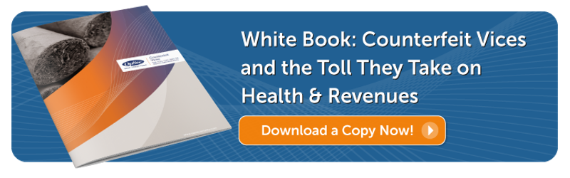 Download White Paper: Counterfeit Vices and the tolls they take on health and revenues