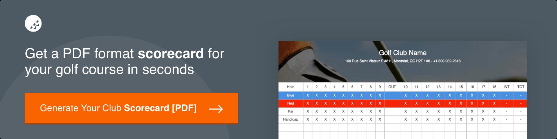 golf-scorecard-generator