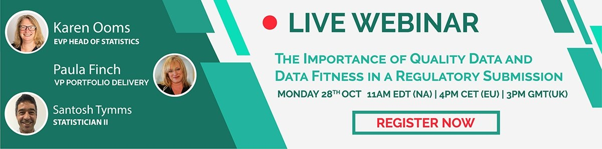 The Importance of Quality Data and Data Fitness in a Regulatory Submission-webinar