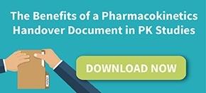 The Benefits of Pharmacokinetics (PK) Handover Document in PK Studies