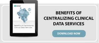 centralizing clinical data services