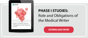Phase I Studies Medical Writing