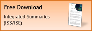 Integrated Summaries (ISS/ISE)