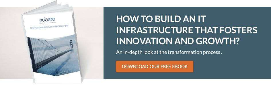 Towards an innovative IT infrastructure