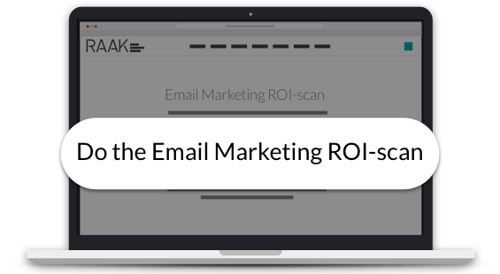 Do the Email Marketing ROI-scan