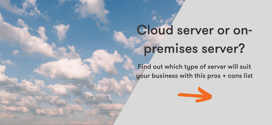 find out which type of server will suit your business