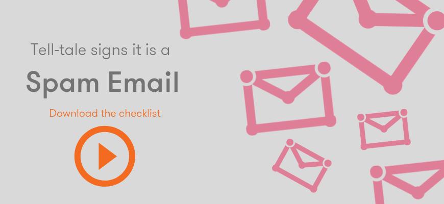 Spam email checklist download