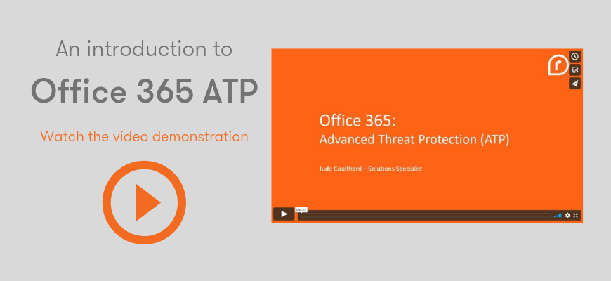 Office 365 ATP Video Demo Link