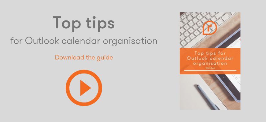 outlook calendar organisation guide download button