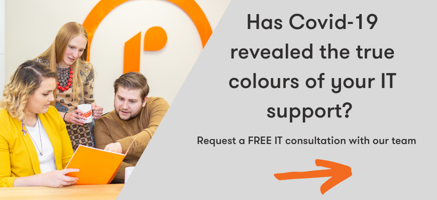 request a free IT consultation with our team