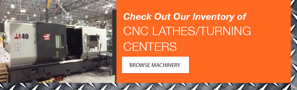 CNC Turning Center Inventory