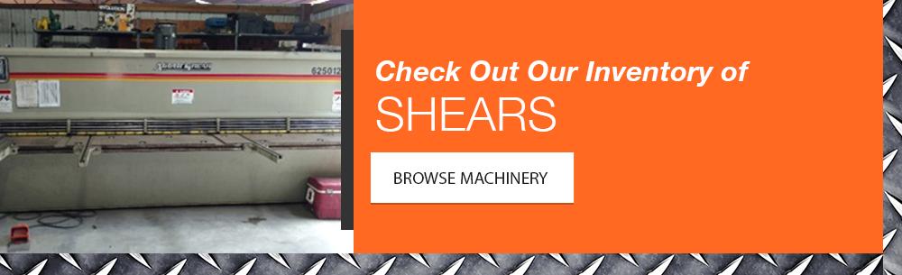 Shear Machinery Inventory