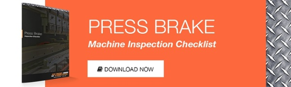 press-brake-inspection-checklist