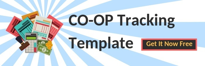 Free Co-Op Marketing Tracking Template   THAT Agency